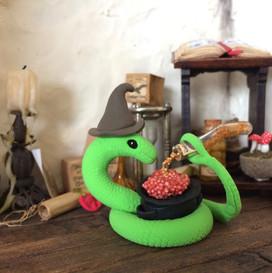 slang met ketel (verkocht)