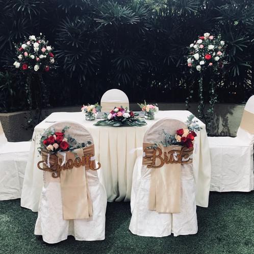 Basic wedding decoration package junglespirit Gallery