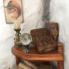 boek met versiering