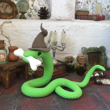 slang met bot (verkocht)