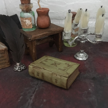 oud, groen boek (verkocht)
