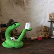 slang met kaars (verkocht)