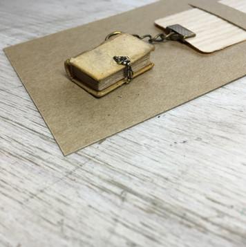 boekenlegger, blank boek