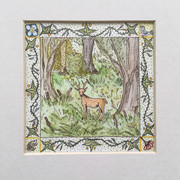 hertje in het bos