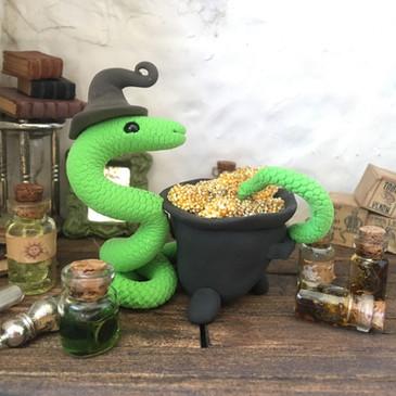slang met toverdrank