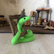 slang met frame (verkocht)