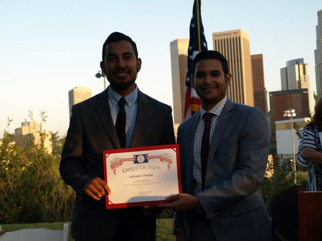Bridges to Park Careers Graduation Ceremony at Vista Hermosa Park