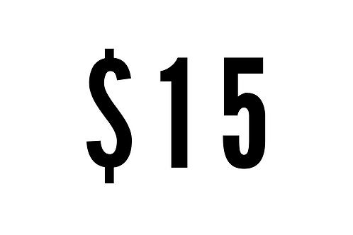 $15 One-Time Donation