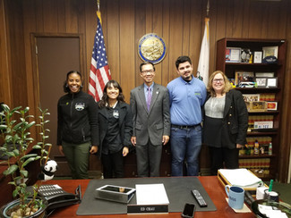 A Sacramento Office Visit