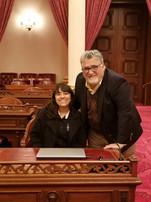In the Senate Chamber