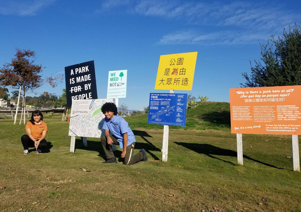 Community Naturalists at LA State Historic Park