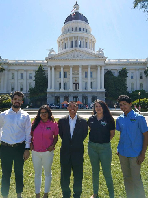 Outdoor Equity Advocates at the State Capitol