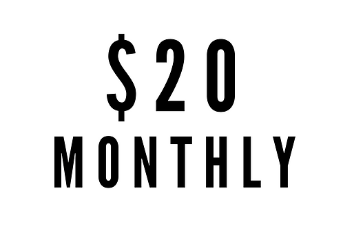 $20 Monthly