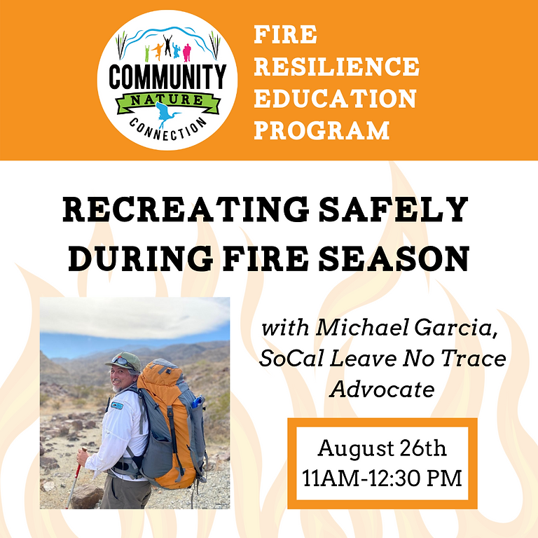 Recreating Safely During Fire Season