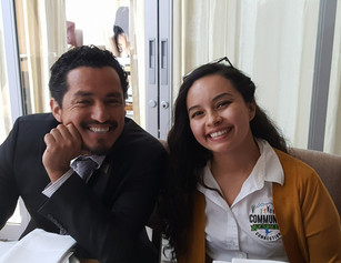 Our Program Director with Jose Gonzalez of Latino Outdoors