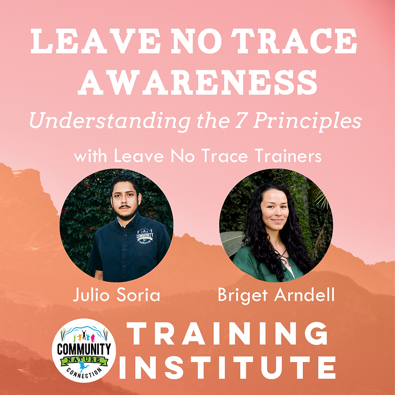Leave No Trace Awareness