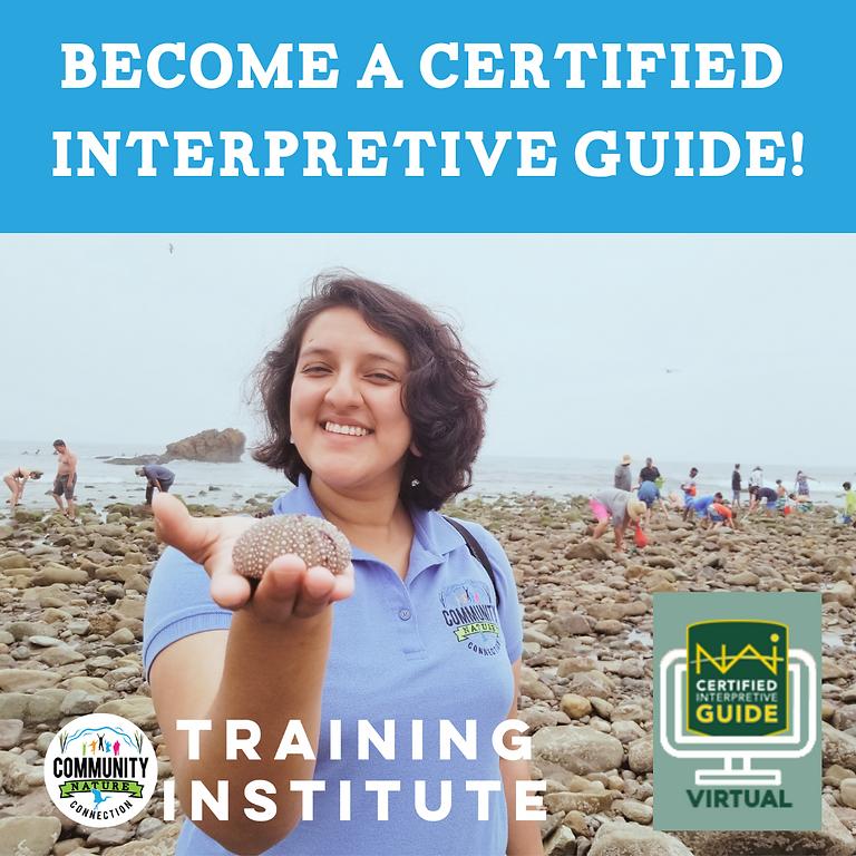 Certified Interpretive Guide Training Course
