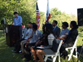 Kevin De Leon Speaks at Bridges to Park Careers Graduation Ceremony