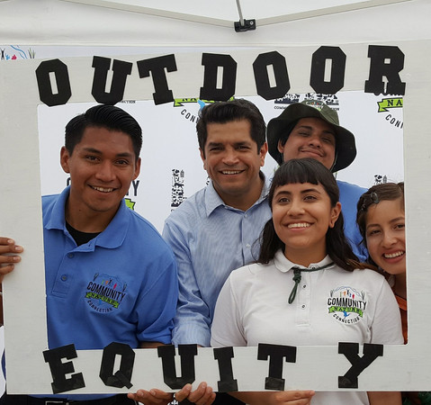 Advocates with Jimmy Gomez