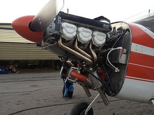 Pre '55 Cessna 180 Dual Exhaust