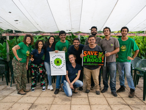 "Dia de Salvar os Anfíbios 2019 - ""Save the Frogs Day'"