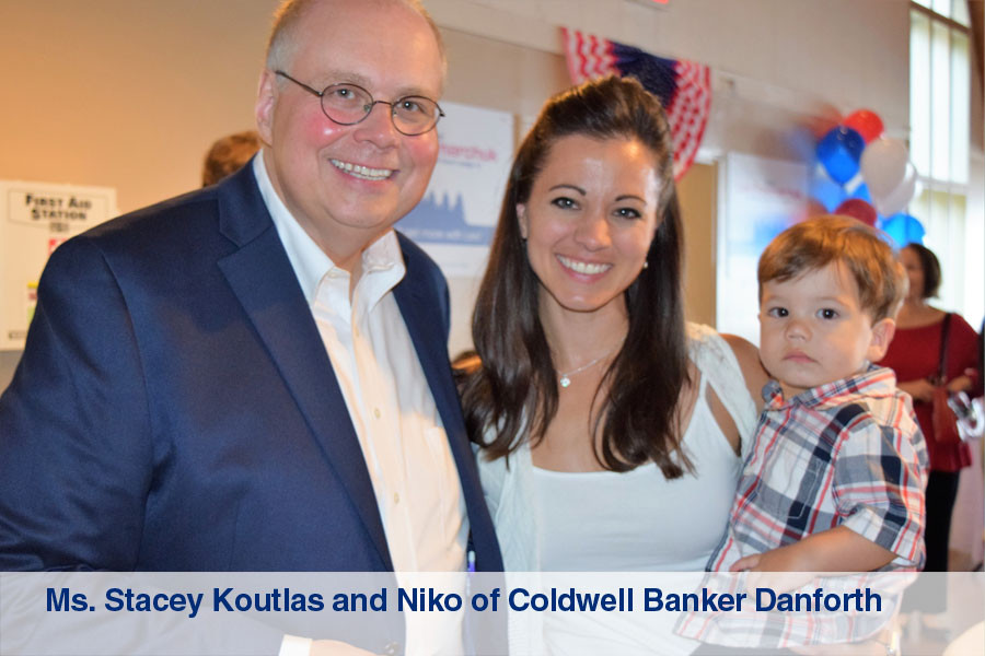 Ms. Stacey Koutlas and Niko of Codwell B