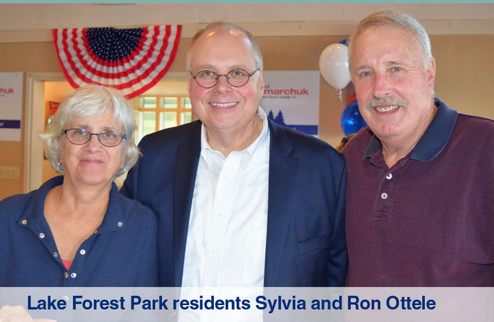 Lake Forest Park residents Sylvia and Ro