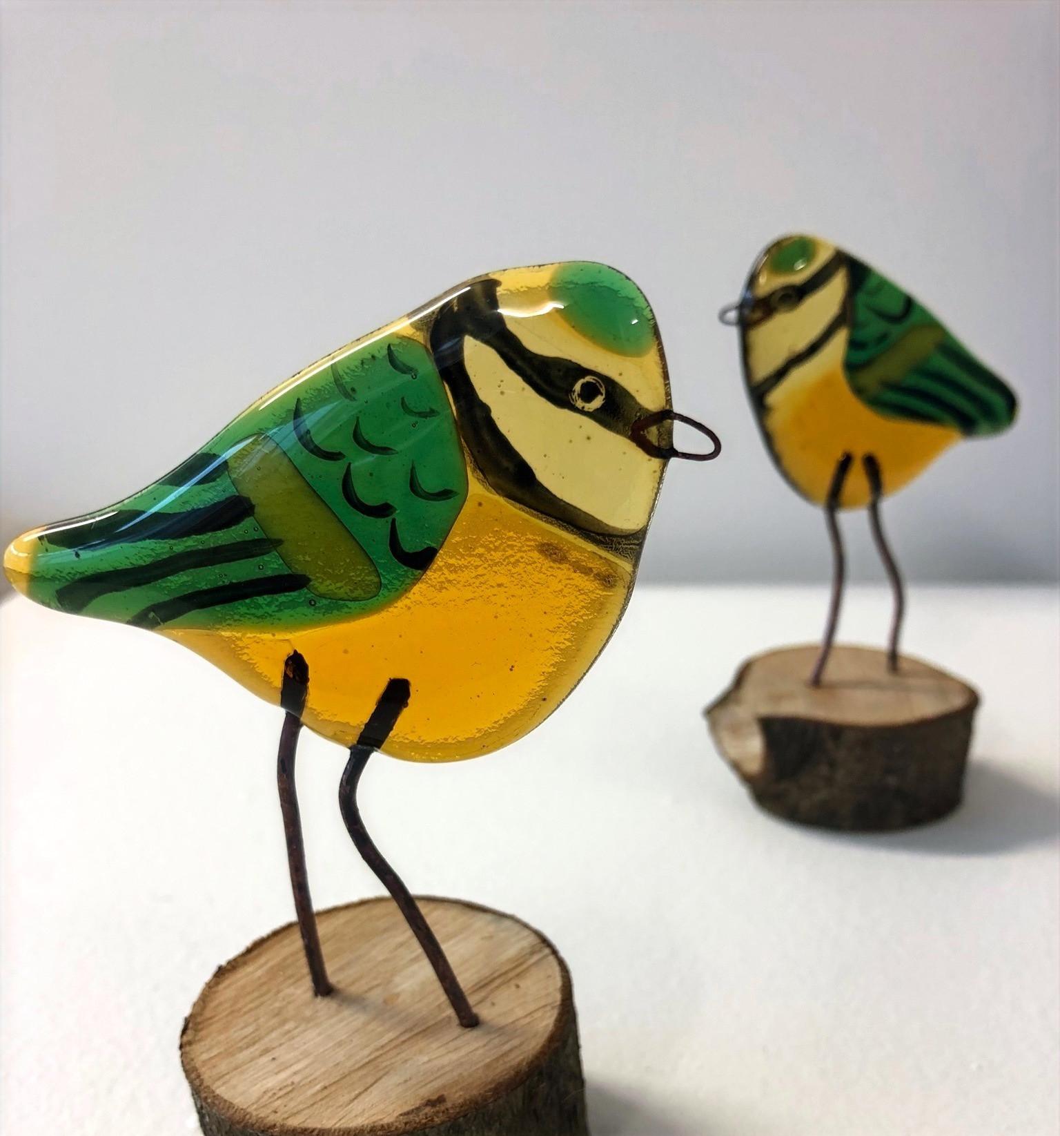 Spring Bird Fused Glass Workshop