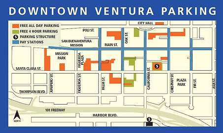 ventura parking map
