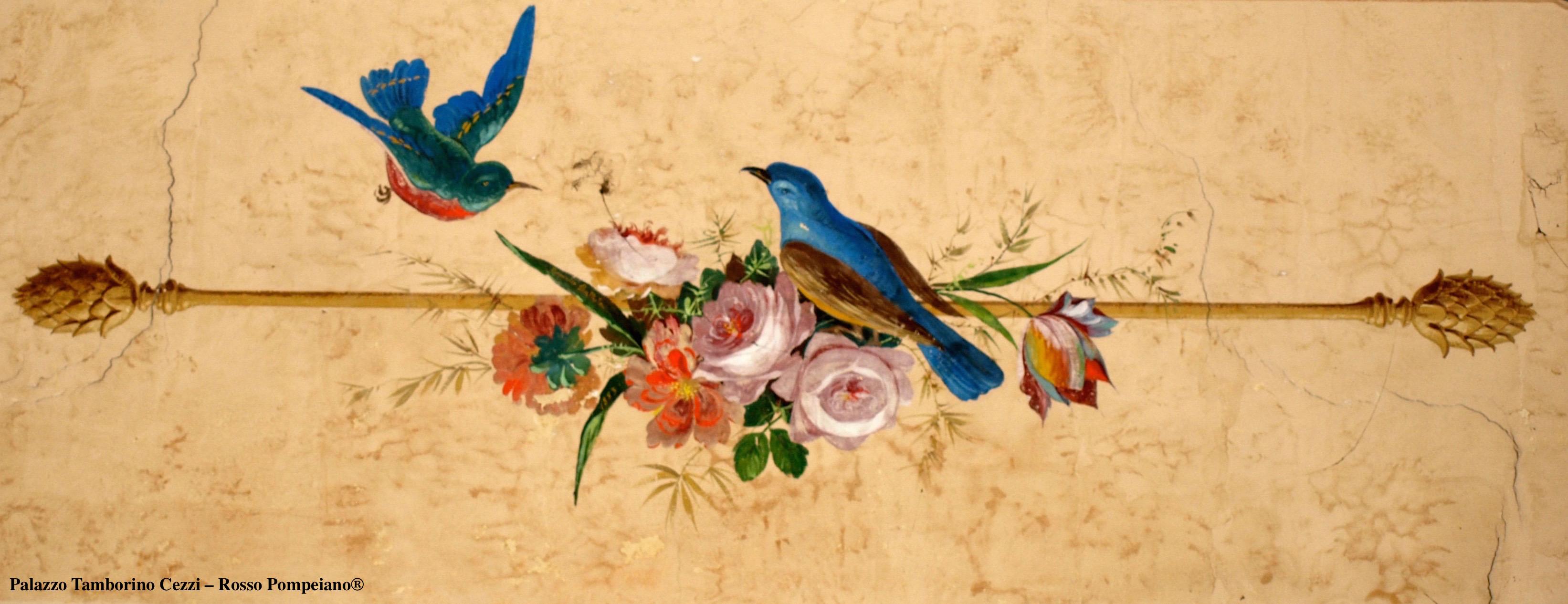 gli affreschi di Domenico Battista