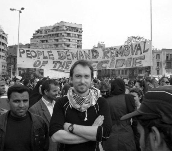 Ruaridh Arrow, BBC, Egyptian Revolution