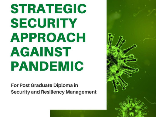 STRATEGIC SECURITY APPROACH TO PANDEMIC