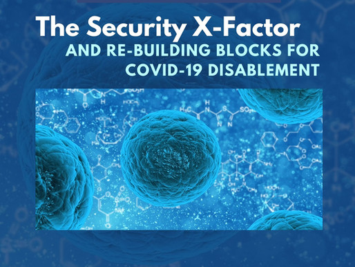 THE SECURITY X-FACTOR AND RE-BUILDING BLOCKS FOR COVID-19 DISABLEMENT