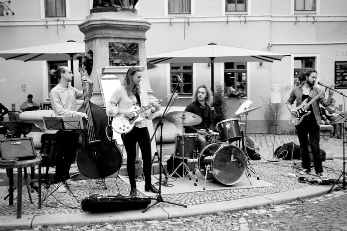 Ophelia Ariadne & Band // Zwiebelmarkt Weimar // 2019