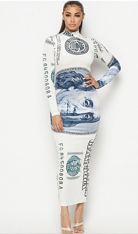 THE MONEY DRESS