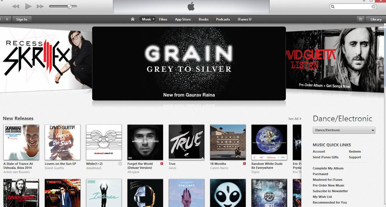 Grain iTunes (Oct 2014)