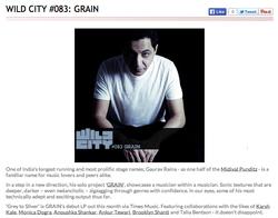 Wild City (Sept. 2014)