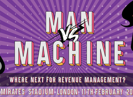 10 reasons why  'Man Vs Machine-Where Next for Revenue Management?' is a must attend event