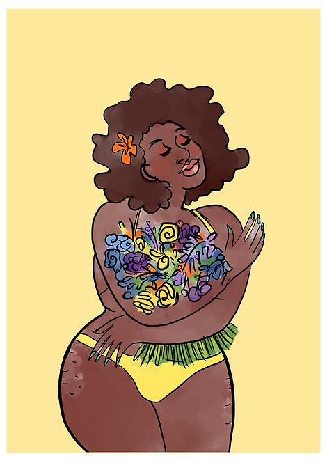 Vénus au bouquet