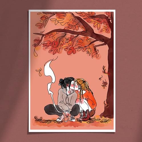 Baiser d'automne