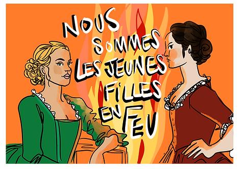 Les jeunes filles en feu