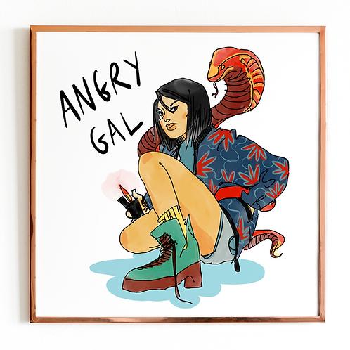 Angry Gal