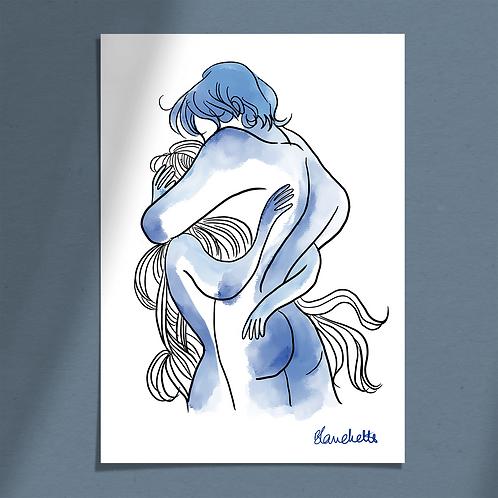 Etreinte Bleue