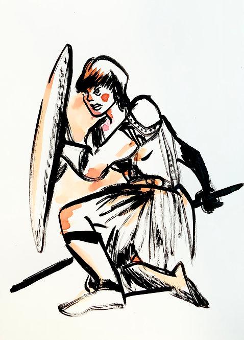 Gladiatrice (A4)