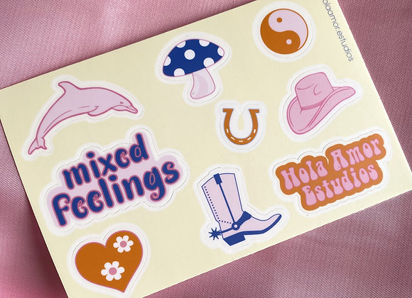 Cowgirl Stickers