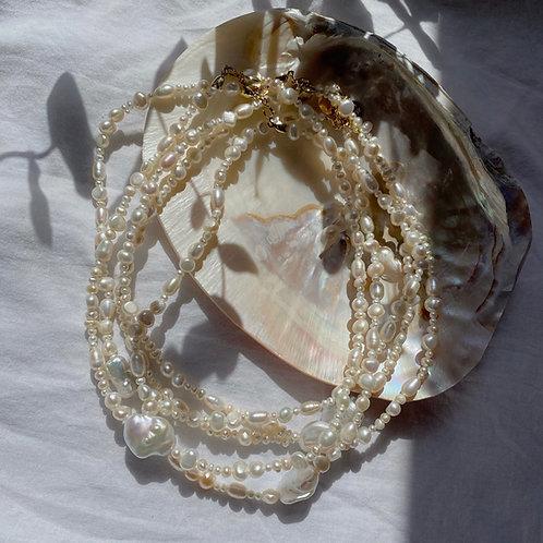 Mermaid Pearl Choker