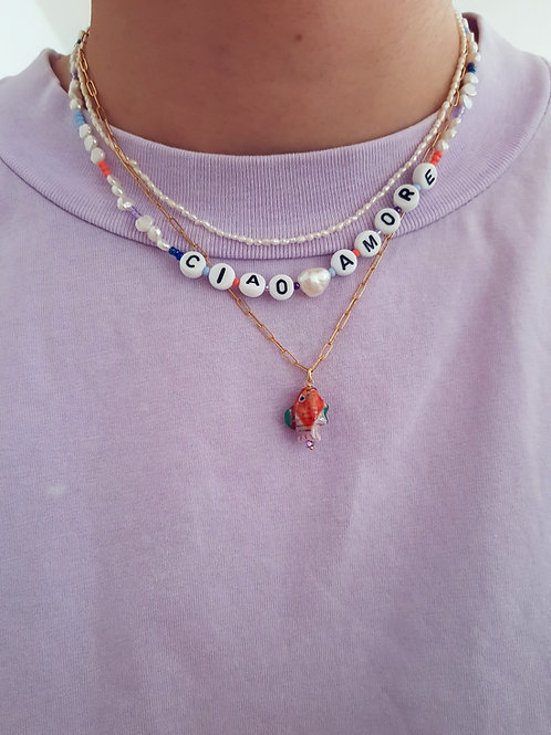Ciao Amore Necklace