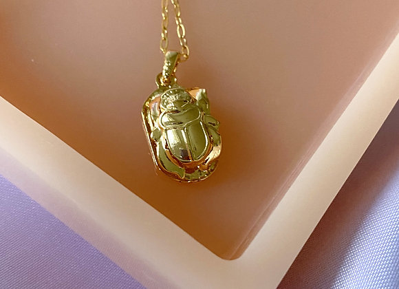 Scarab Necklace - limited collection