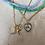 Thumbnail: Lava Lamp Choker Electric Blue