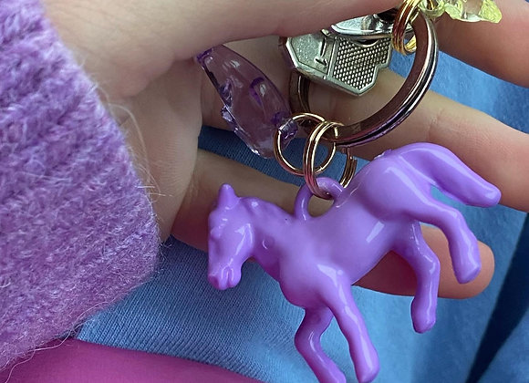 Horse Key Charm